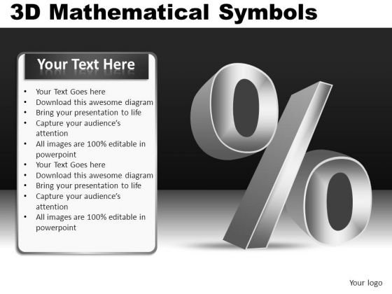 Interest Percent Symbol Ppt