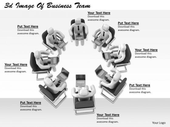 International Marketing Concepts 3d Image Of Business Team Statement
