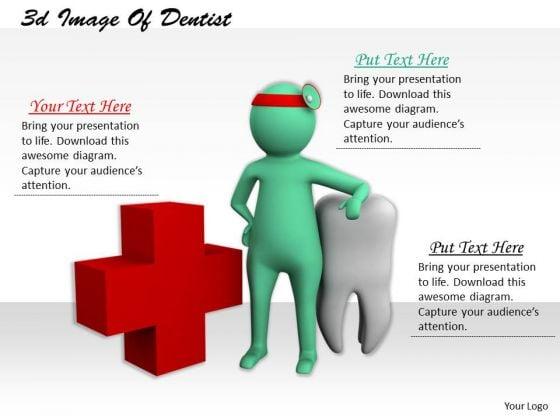 International Marketing Concepts 3d Image Of Dentist Business Statement