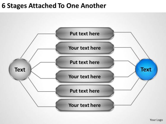 Internet Business Strategy 6 Stages Attached To One Another Implementation