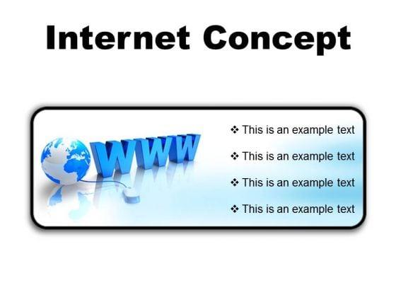 Internet Concept Global PowerPoint Presentation Slides R