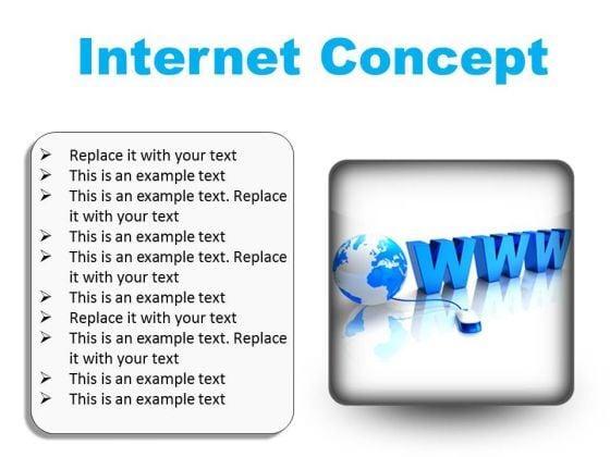 Internet Concept Global PowerPoint Presentation Slides S