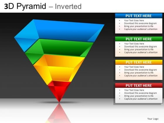 Inverted Pyramid PowerPoint Slides