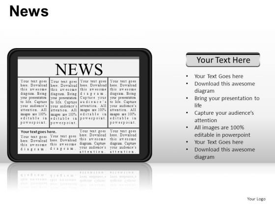 Ipad News PowerPoint Slides And Ppt Diagram Templates