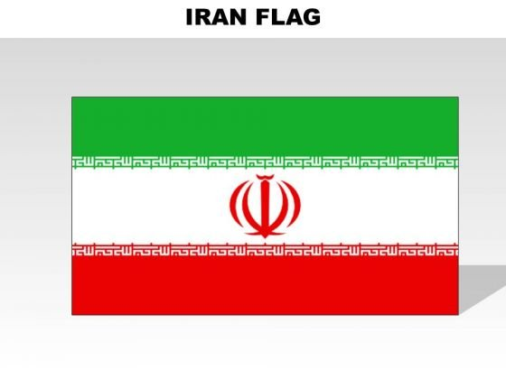 Iran Country PowerPoint Flags