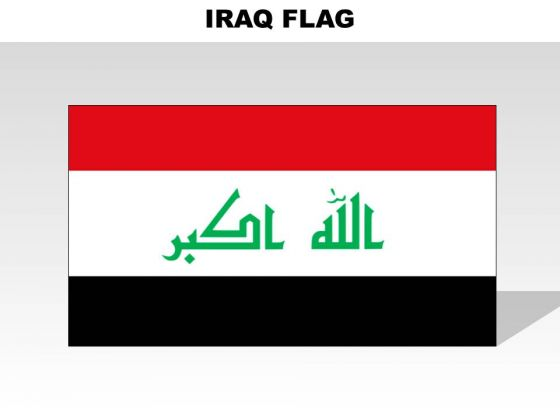 Iraq Country PowerPoint Flags