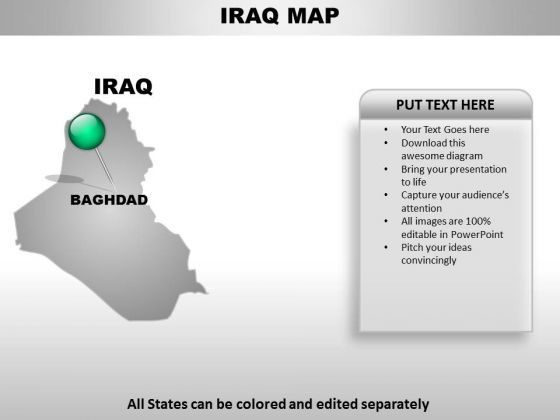 Iraq Country PowerPoint Maps
