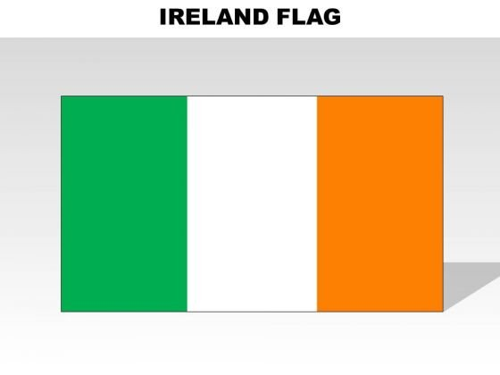 Ireland Country PowerPoint Flags