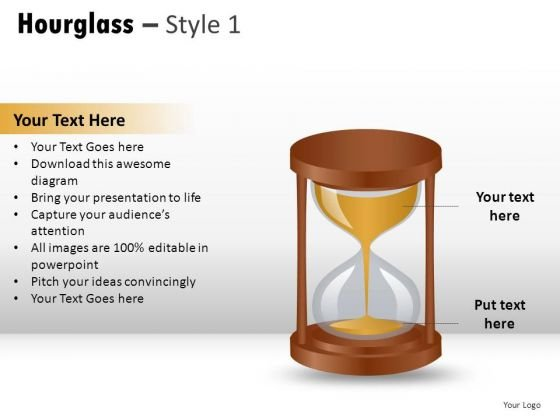 Isolated Lane Hourglass 1 PowerPoint Slides And Ppt Diagram Templates