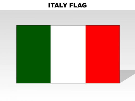 Italy Country PowerPoint Flags