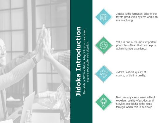 Jidoka Introduction Management Ppt PowerPoint Presentation Portfolio Ideas