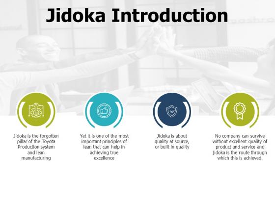 Jidoka Introduction Ppt PowerPoint Presentationmodel Brochure