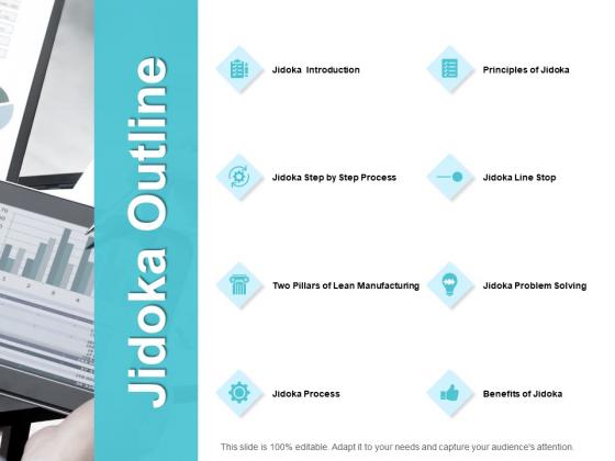 Jidoka Outline Ppt PowerPoint Presentation Model Files