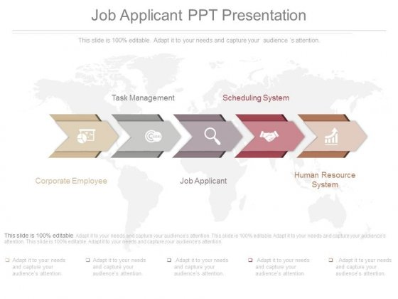 Job Applicant Ppt Presentation