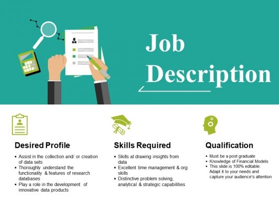 Job Description Ppt PowerPoint Presentation Icon Outline
