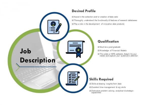 Job Description Ppt PowerPoint Presentation Pictures Aids