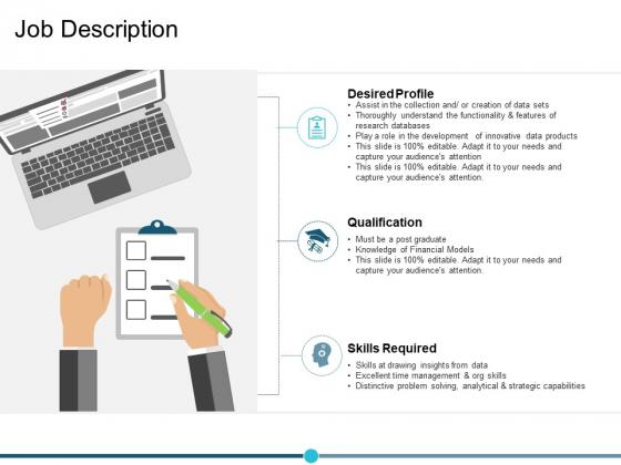 Job Description Ppt PowerPoint Presentation Slides Slideshow