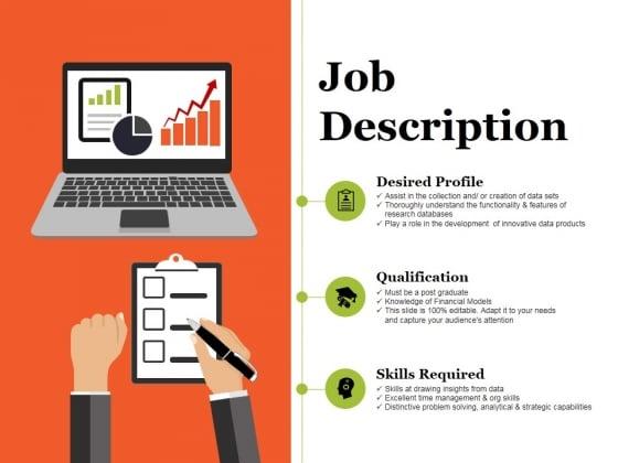 Job Description Ppt PowerPoint Presentation Summary Shapes