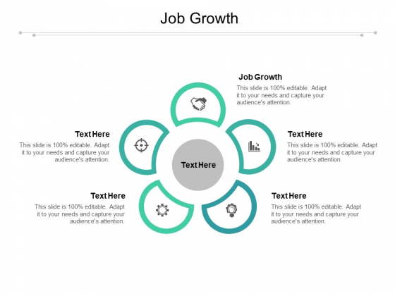 Job Growth Ppt PowerPoint Presentation Model Designs Cpb Pdf