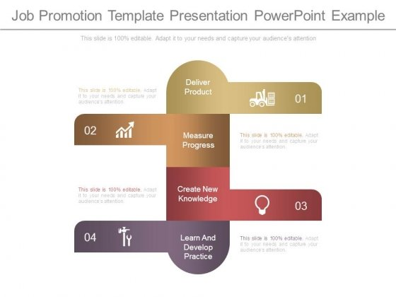 Job Promotion Template Presentation Powerpoint Example Powerpoint