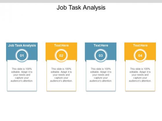 Job Task Analysis Ppt PowerPoint Presentation Infographic Template Ideas Cpb