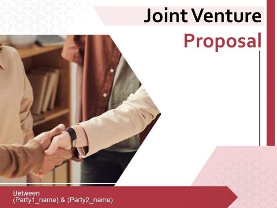 Joint Venture Proposal Ppt PowerPoint Presentation Complete Deck With Slides