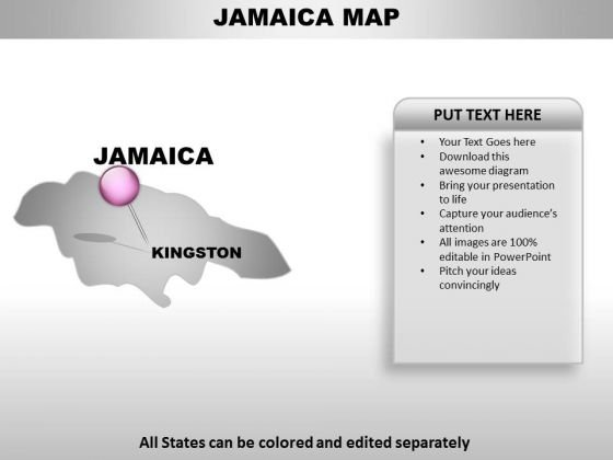Editable jamaica ppt map powerpoint templates slides and graphics check out our best designs of editable jamaica ppt map powerpoint templates toneelgroepblik Gallery