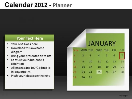 January 2012 PowerPoint Slides