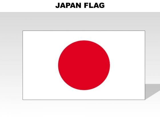 Japan Country PowerPoint Flags