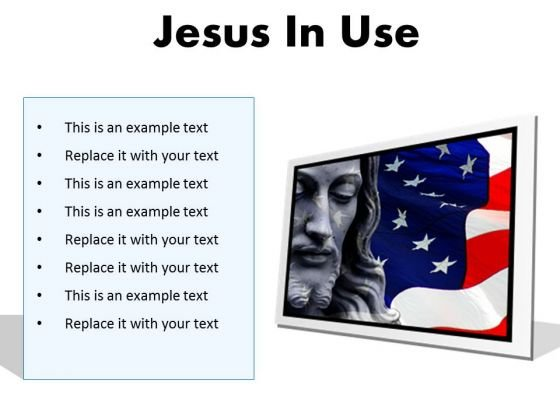 Jesus In Usa Religion PowerPoint Presentation Slides F