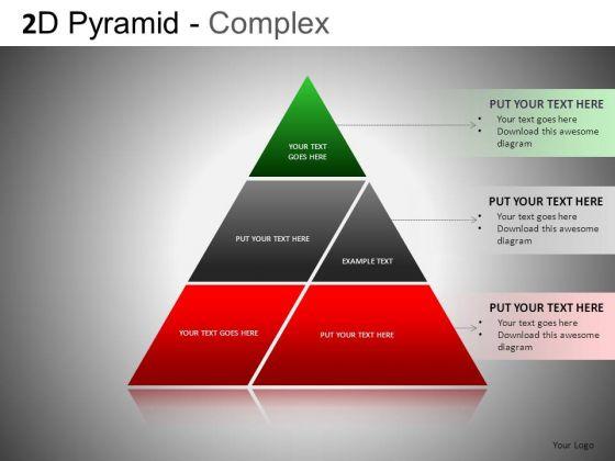 Joined Pyramids PowerPoint Slides And Ppt Templates