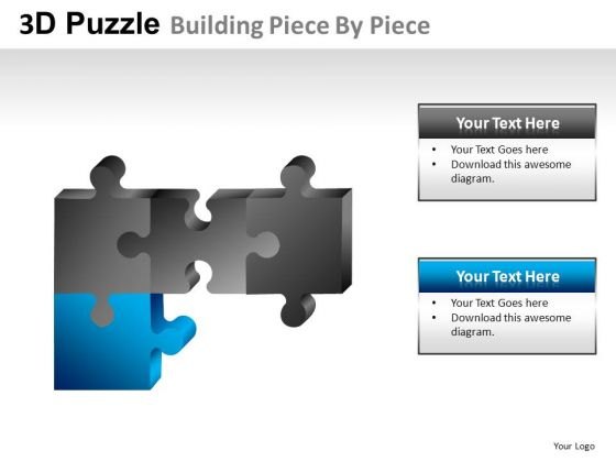 Joining Puzzles PowerPoint Slides And Ppt Diagram Templates