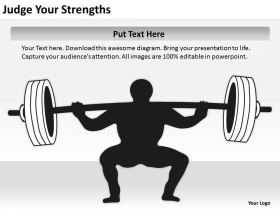 Judge Your Strengths Ppt Business Plan Templates PowerPoint