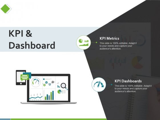 KPI And Dashboard Ppt PowerPoint Presentation Slides Icon