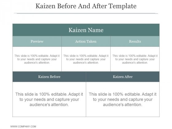 Kaizen_Before_And_After_Template_Ppt_PowerPoint_Presentation_Outline_Slide_1