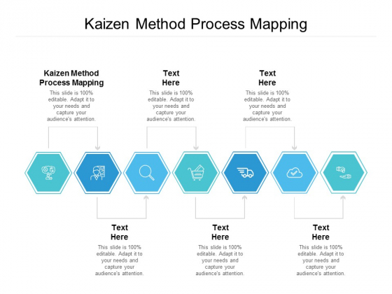 Kaizen Method Process Mapping Ppt PowerPoint Presentation Ideas Inspiration Cpb