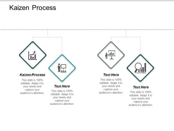 Kaizen Process Ppt Powerpoint Presentation Professional Inspiration Cpb