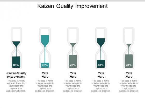 Kaizen Quality Improvement Ppt Powerpoint Presentation Background Designs Cpb