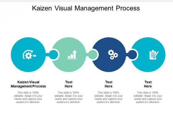 Kaizen Visual Management Process Ppt PowerPoint Presentation Icon Templates Cpb