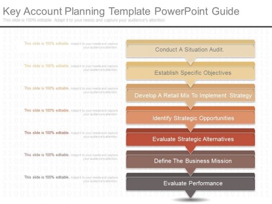key account planning template powerpoint guide powerpoint templates