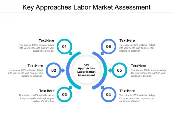 Key Approaches Labor Market Assessment Ppt PowerPoint Presentation Outline Example File Cpb