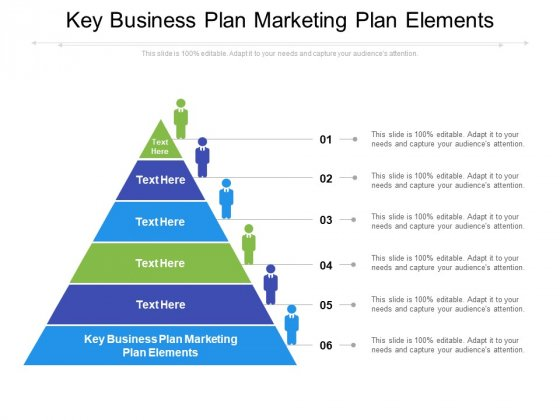 Key Business Plan Marketing Plan Elements Ppt PowerPoint Presentation Inspiration Example File Cpb Pdf