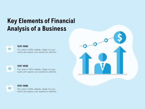 Key Elements Of Financial Analysis Of A Business Ppt PowerPoint Presentation Icon Good
