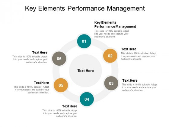 Key Elements Performance Management Ppt PowerPoint Presentation Infographic Template Graphics Pictures Cpb