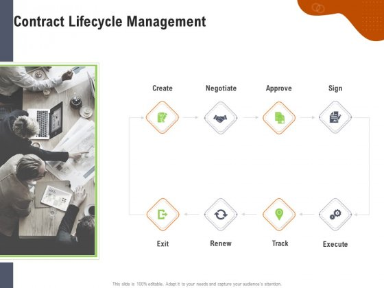 Key Features For Effective Business Management Contract Lifecycle Management Ppt Slides Deck PDF