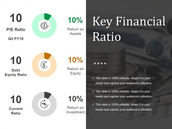 Key Financial Ratio Template 2 Ppt PowerPoint Presentation Gallery Demonstration