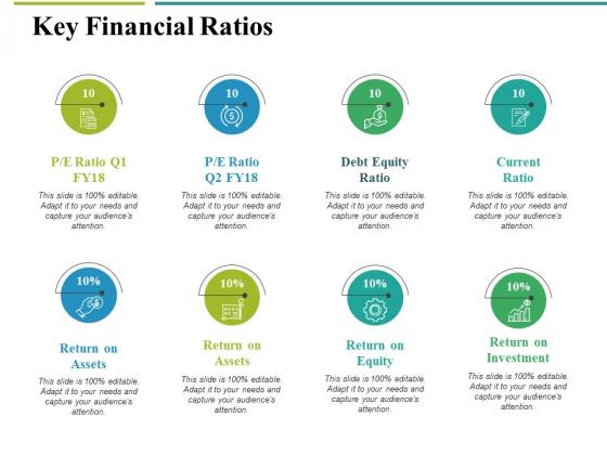 Key Financial Ratios Ppt PowerPoint Presentation Portfolio Summary