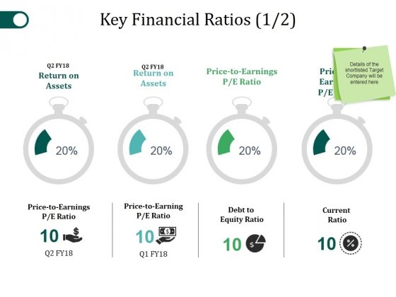 Key Financial Ratios Template 1 Ppt PowerPoint Presentation Layouts Pictures