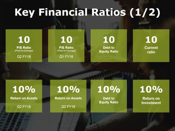 Key Financial Ratios Template 1 Ppt PowerPoint Presentation Pictures Influencers