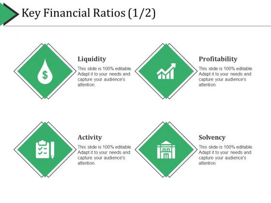 Key Financial Ratios Template 2 Ppt PowerPoint Presentation Summary Graphics Tutorials